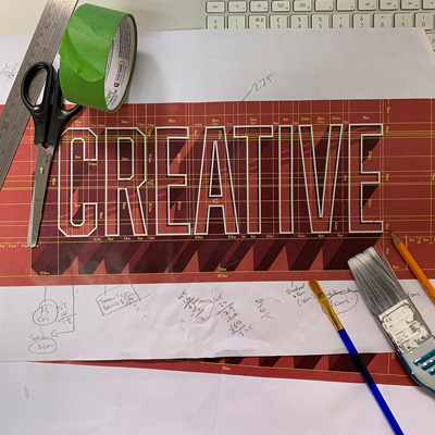 Creative Wall Mural