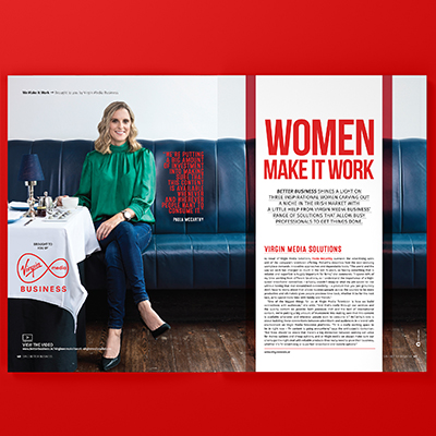 Virgin Media: Women Make It Work Campaign