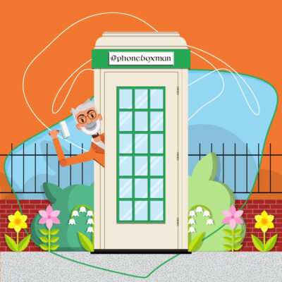 Phone Box Man Animated Short
