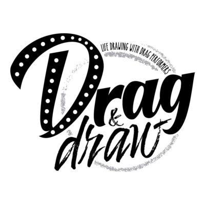 Drag & Draw Logo Black - 1080 x 1080